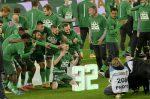 Sorozatban harmadszor bajnok a Ferencváros